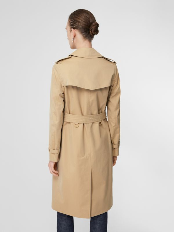 Trench coat Heritage The Kensington lungo (Miele) - Donna | Burberry - cell image 2
