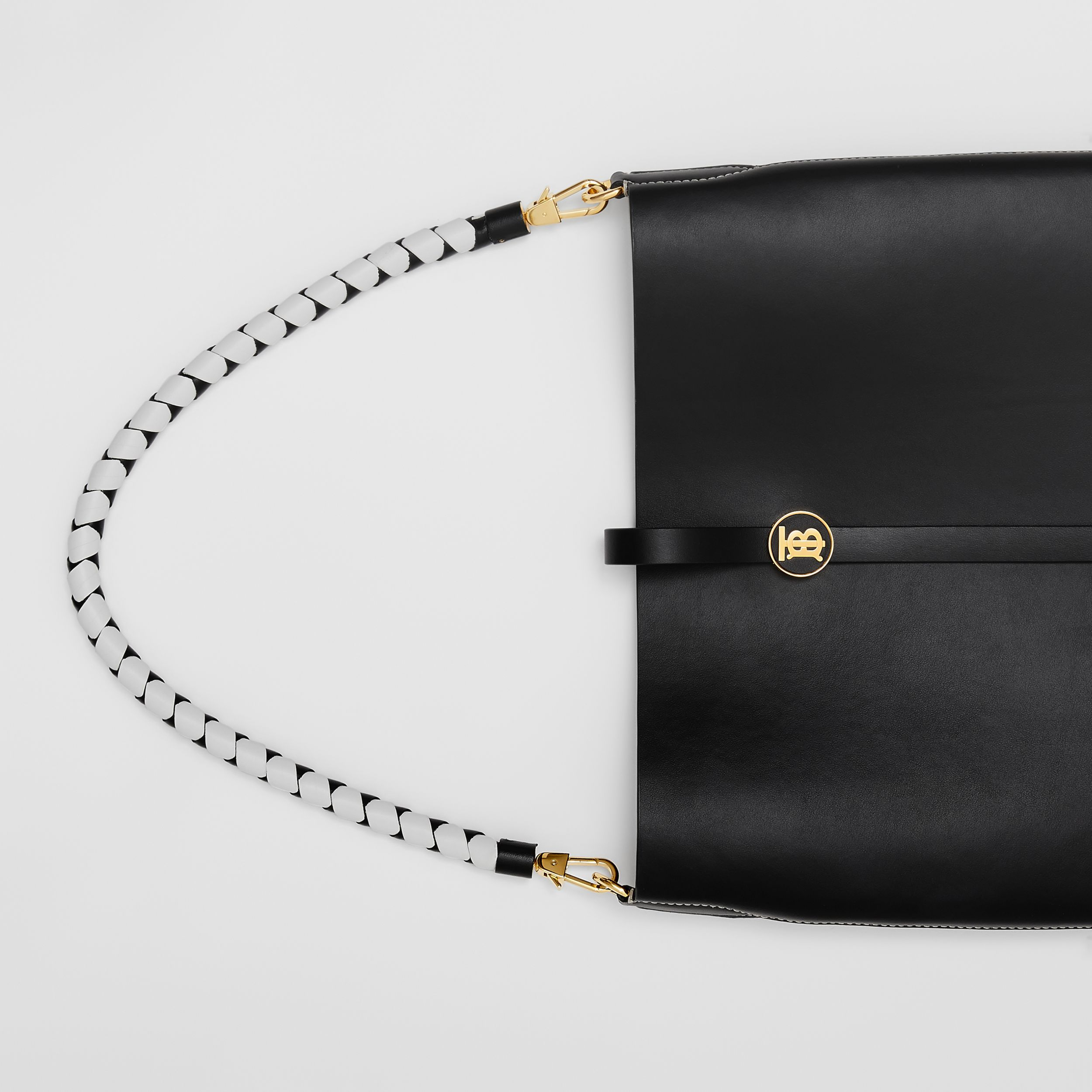 Leather Anne Bag in Black - Women | Burberry Australia - 2