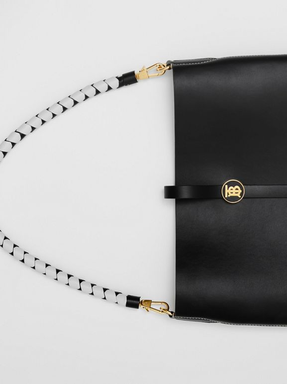 Leather Anne Bag in Black - Women | Burberry - cell image 1