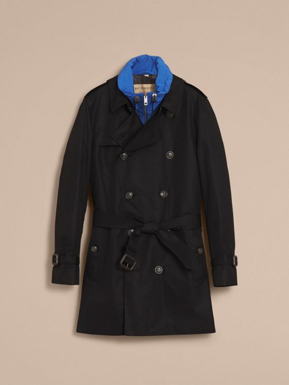 Showerproof Technical Trench Coat with Detachable Gilet - cell image 3