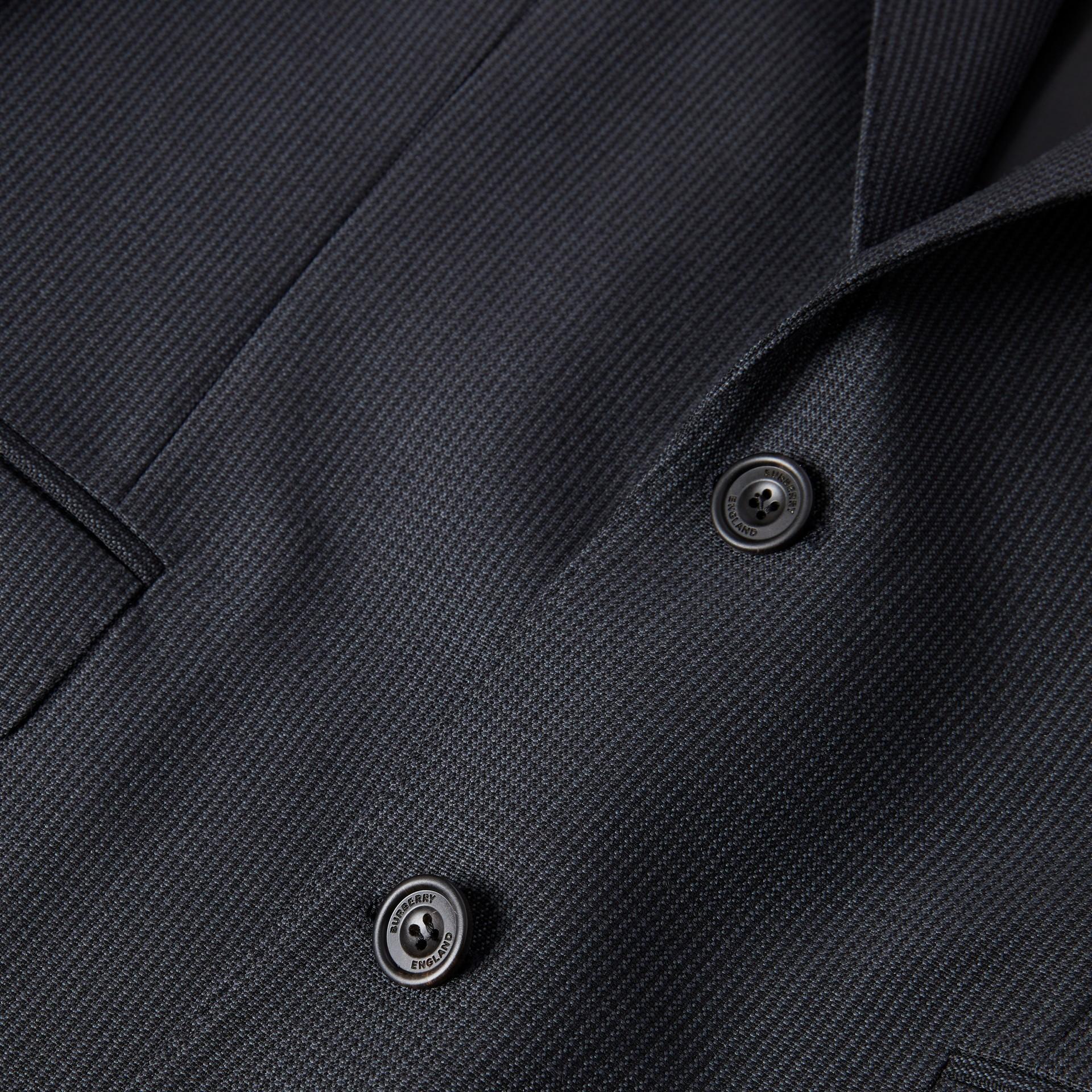 クラシックフィット パピートゥースチェック ウールモヘア スーツ (ネイビー) - メンズ | バーバリー - ギャラリーイメージ 8