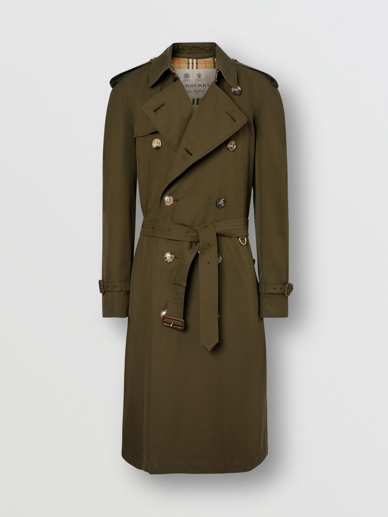 The Westminster - Trench coat Heritage in Cáqui Militar Escuro