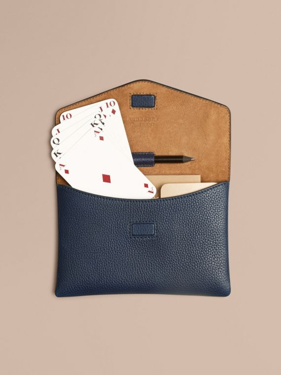 Bridge Game Set in Bright Navy | Burberry Singapore