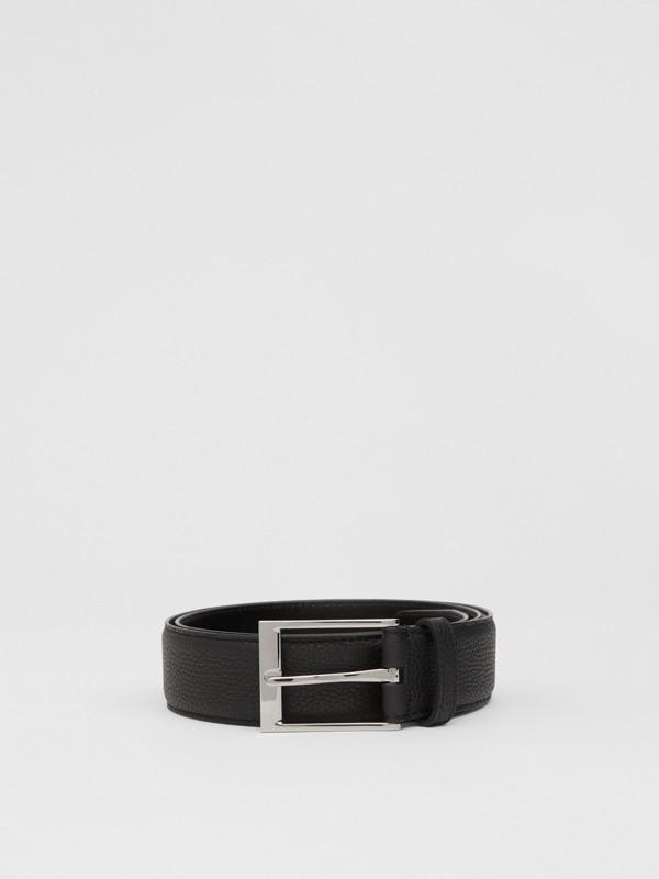 Cintura in pelle a grana (Nero) | Burberry - cell image 2