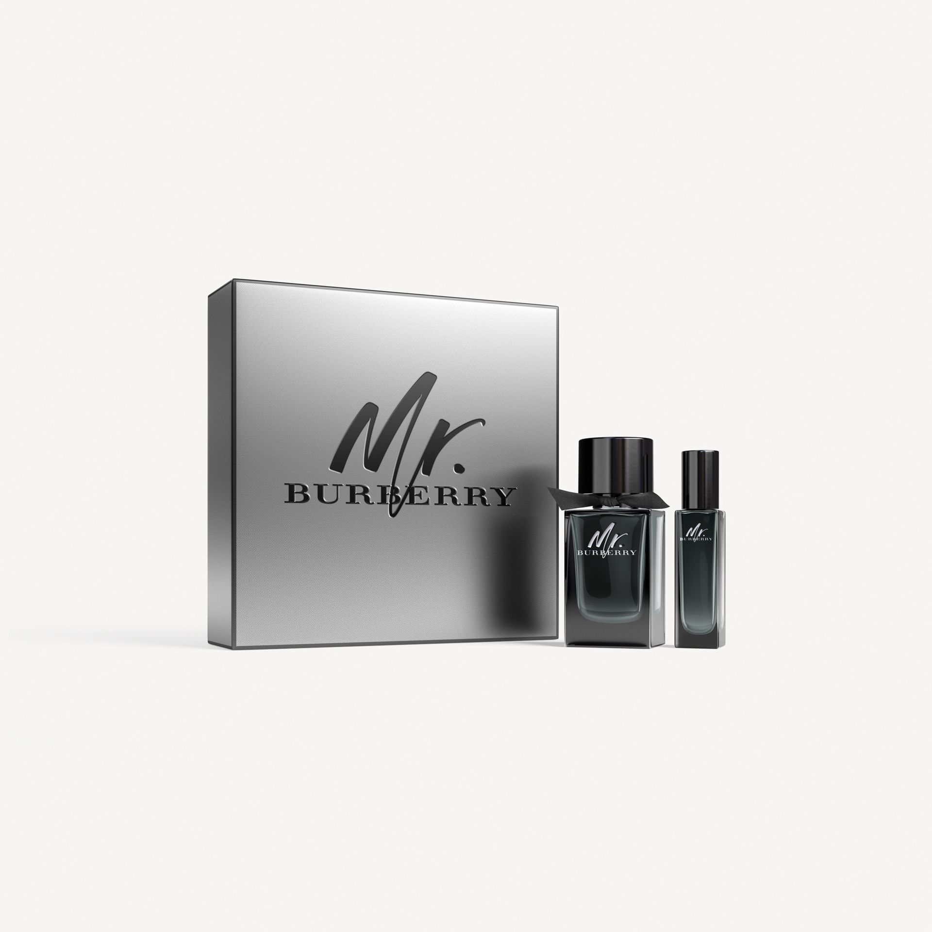 Mr. Burberry Eau de Parfum Set in Black - Men | Burberry United Kingdom - gallery image 0