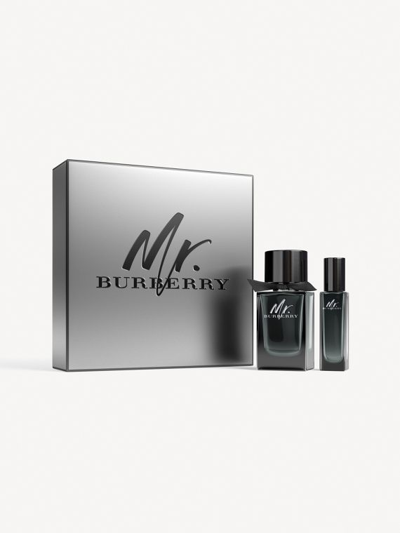 Mr. Burberry Eau de Parfum Set in Black