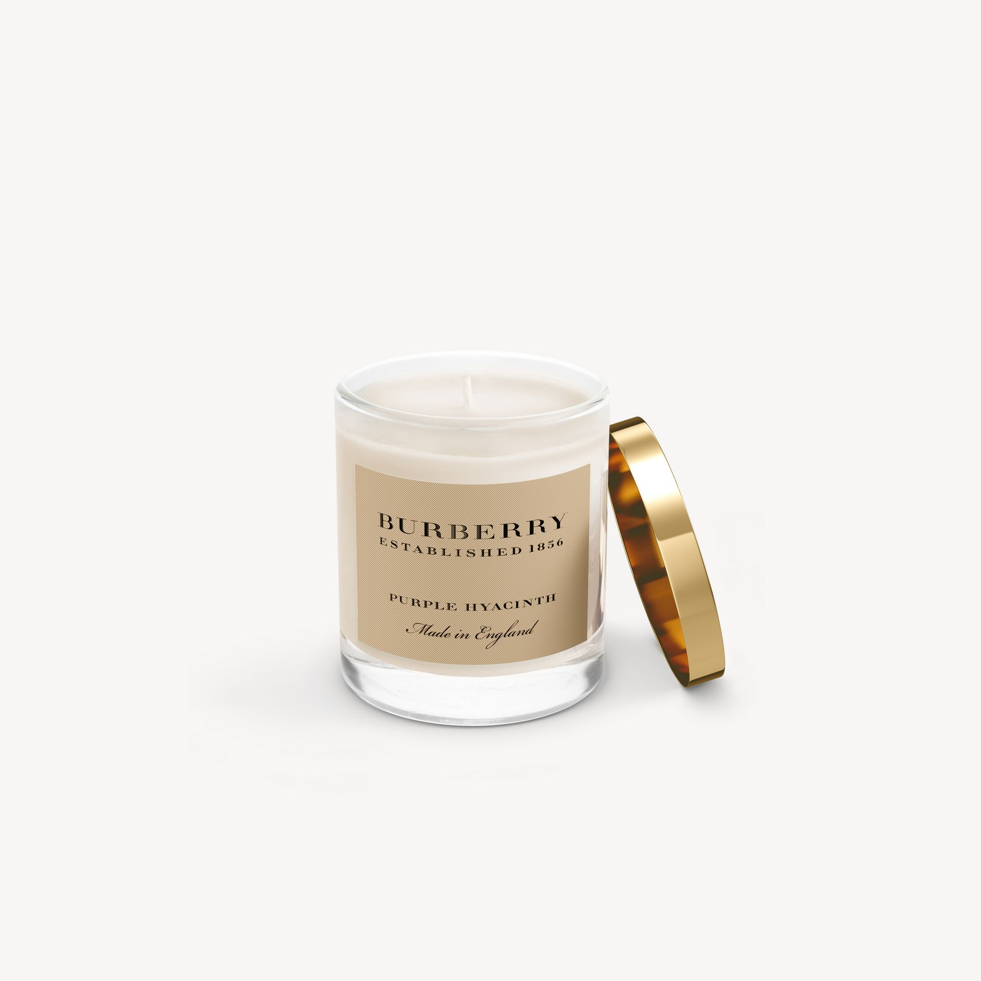 Purple Hyacinth Scented Candle – 200g | Burberry - gallery image 0