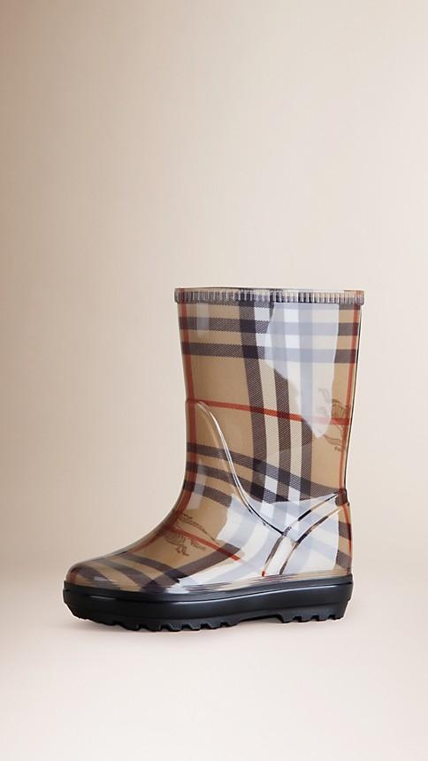 Haymarket Haymarket Check Rain Boots - Image 1