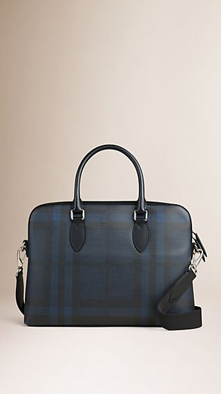 Sac The Barrow à motif Smoked Check