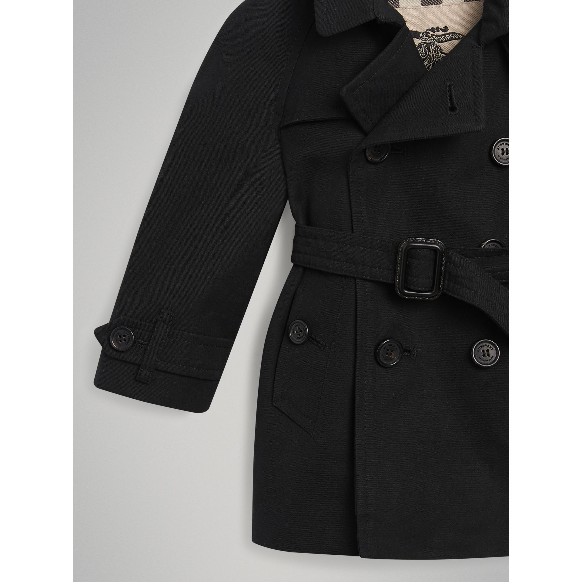 The Wiltshire Trench Coat in Black | Burberry Singapore - gallery image 1