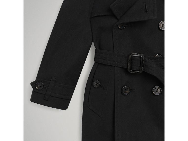 The Wiltshire Trench Coat in Black | Burberry Singapore - cell image 1