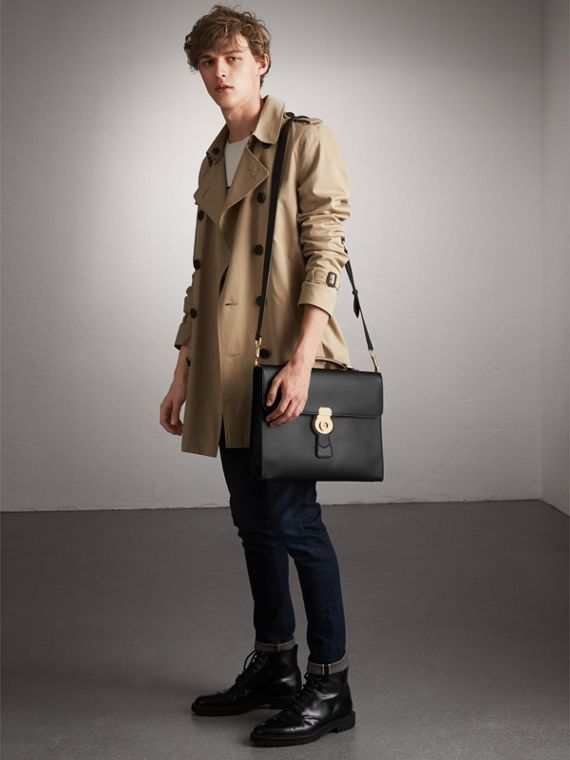 The Large DK88 Document Case in Black - Men | Burberry United States - cell image 2