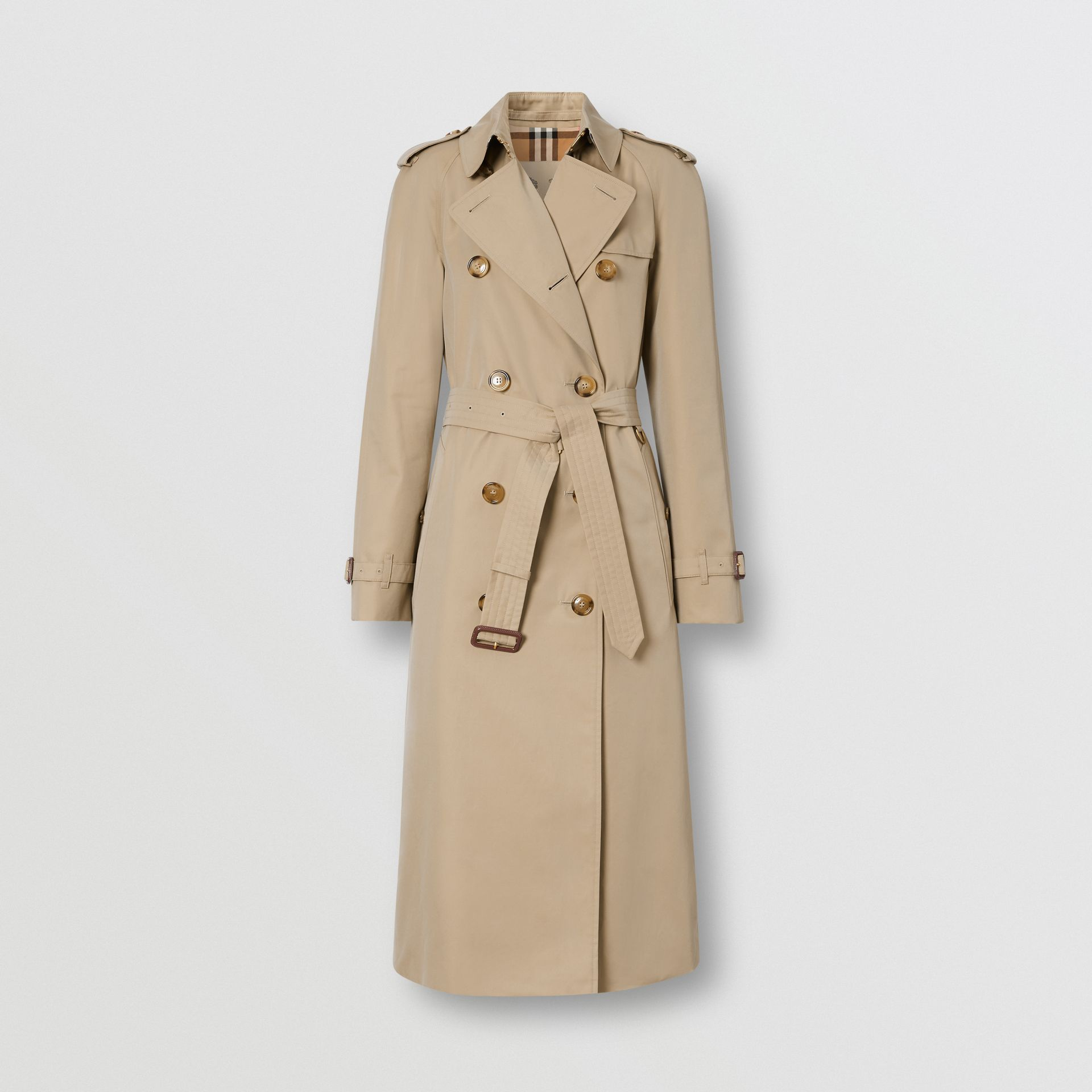The Waterloo Trench Coat in Honey - Women | Burberry - gallery image 3