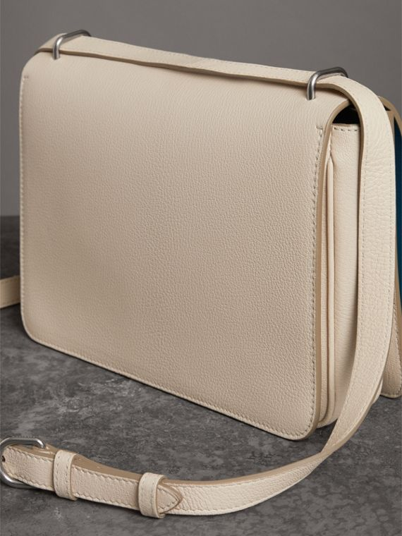 Borsa The D-ring media in pelle (Pietra) - Donna | Burberry - cell image 2