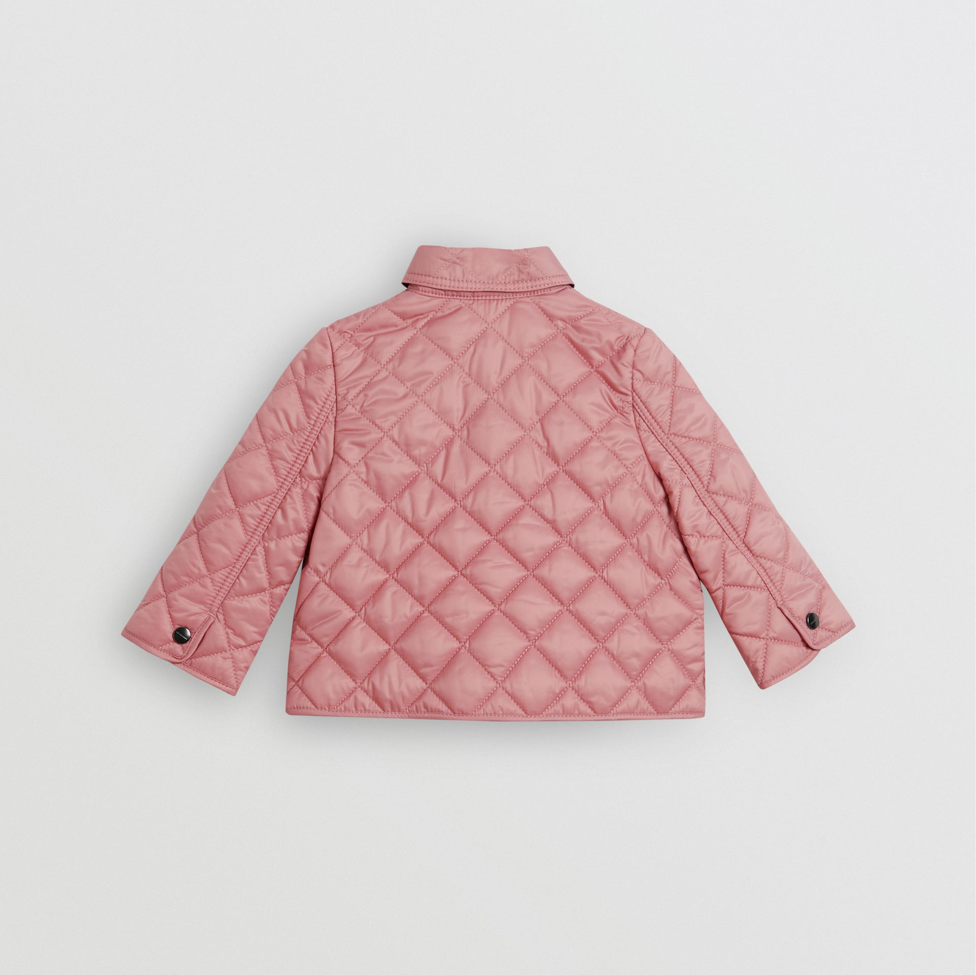 Lightweight Diamond Quilted Jacket in Pale Ash Rose - Children | Burberry Australia - gallery image 3