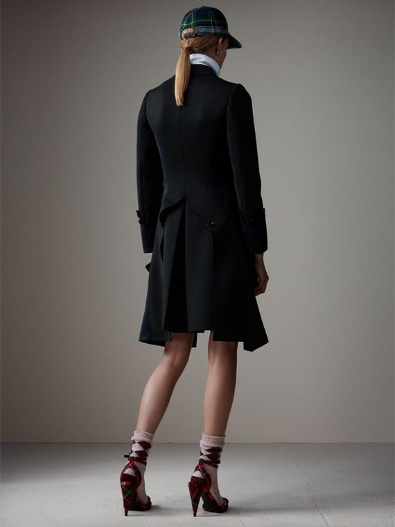 Wool Dressage Coat in Black - Women | Burberry Australia - cell image 2