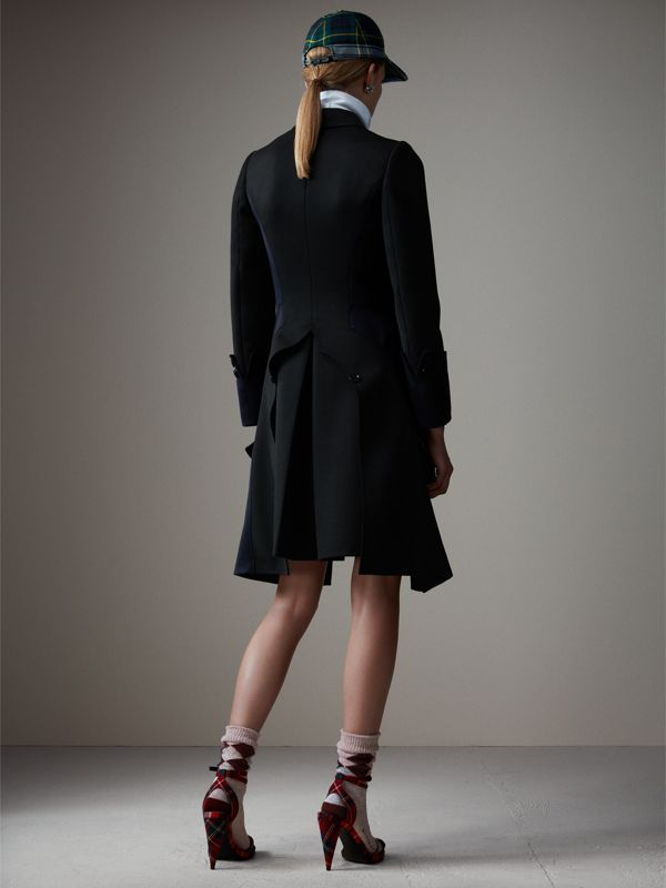 Wool Dressage Coat in Black - Women | Burberry - cell image 2