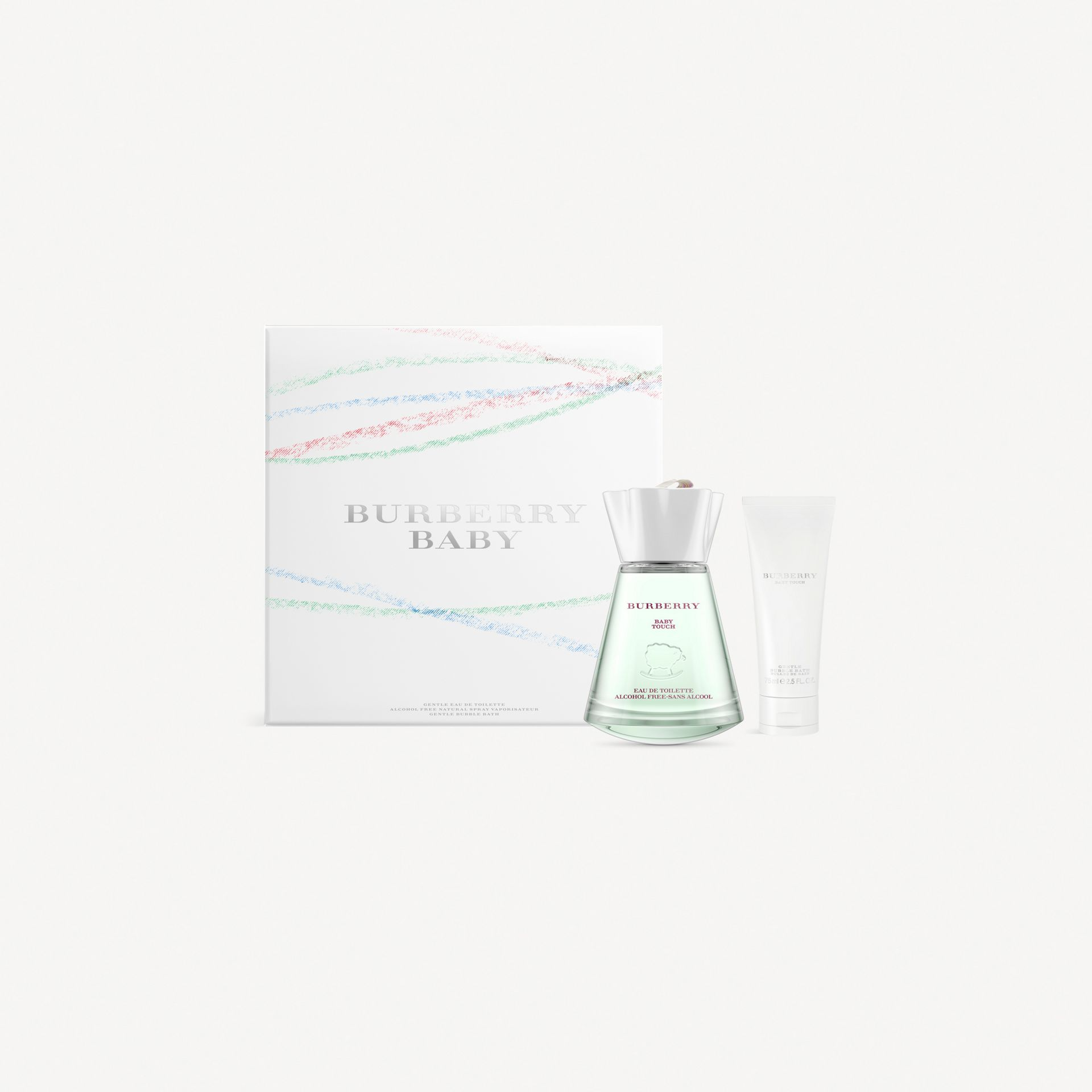 White Burberry Baby Touch Luxury Set - gallery image 1