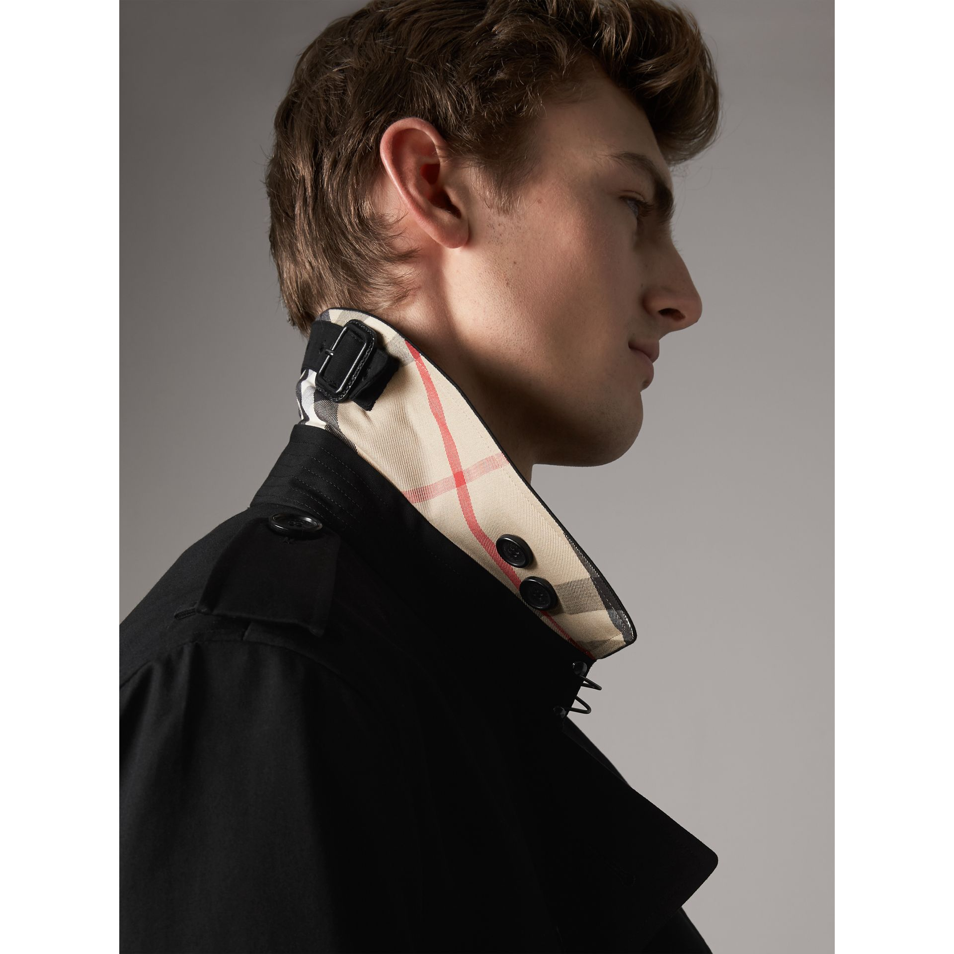 The Sandringham – Trench mi-long (Noir) - Homme | Burberry - photo de la galerie 2