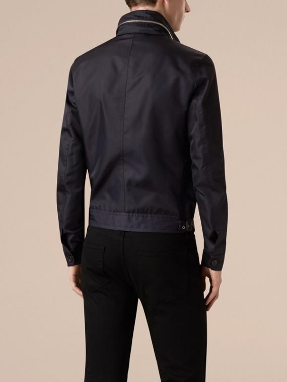 Темно-синий Куртка со складным капюшоном - cell image 2