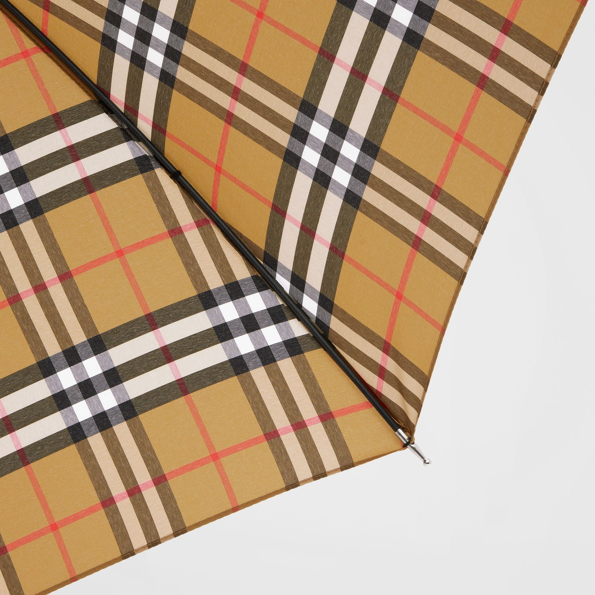 Vintage Check Umbrella in Archive Beige | Burberry Hong Kong S.A.R - gallery image 1