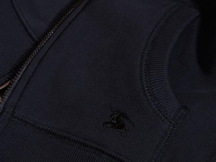 Navy scuro Felpa con cappuccio in cotone Navy Scuro - cell image 1