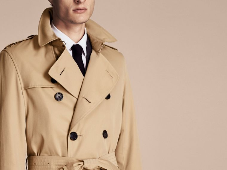 Miele The Kensington - Trench coat Heritage lungo Miele - cell image 4