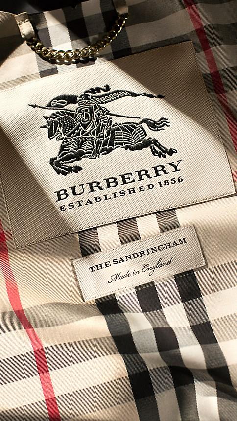 Honey The Sandringham - Long Heritage Trench Coat - Image 5