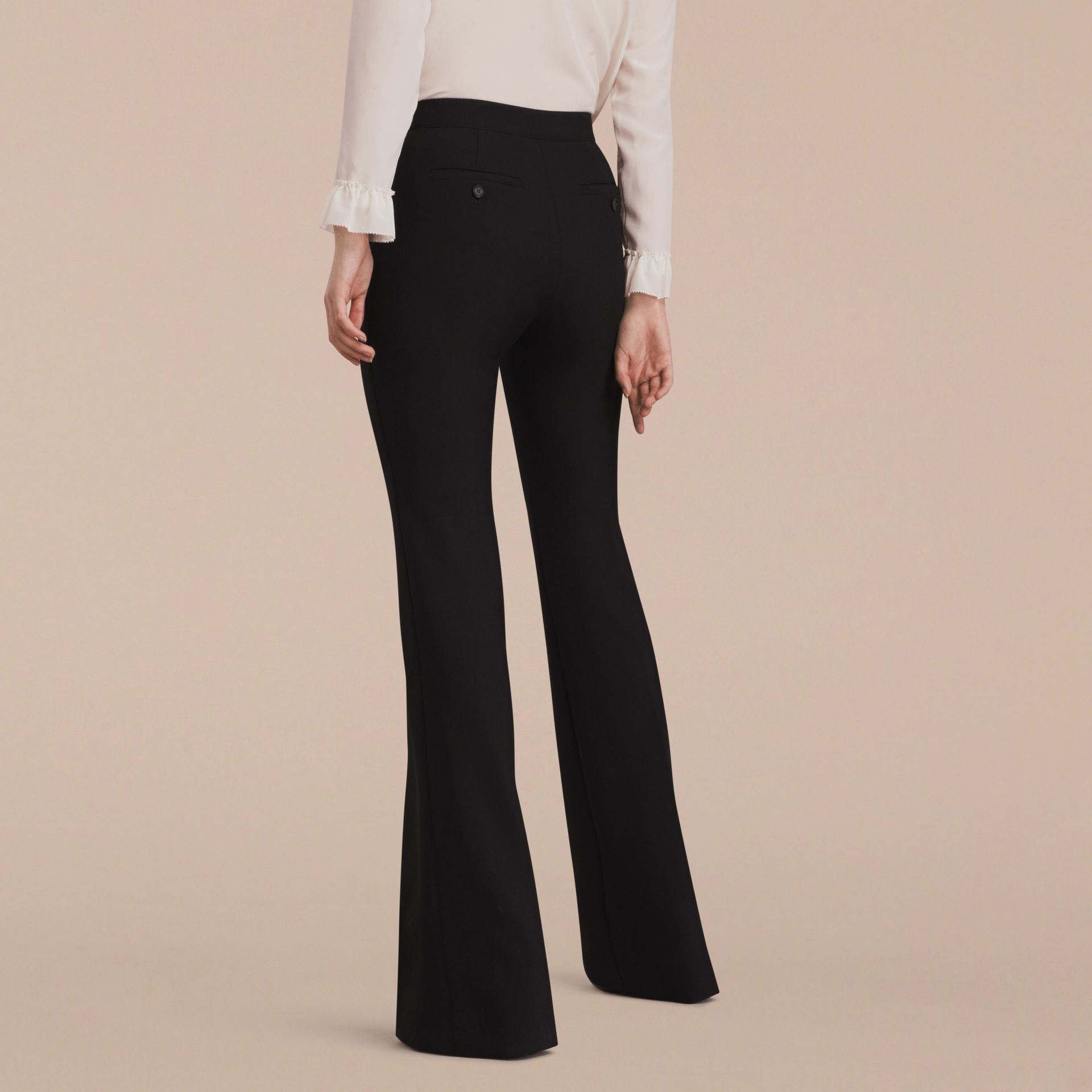 Wide-leg Technical Trousers - gallery image 3