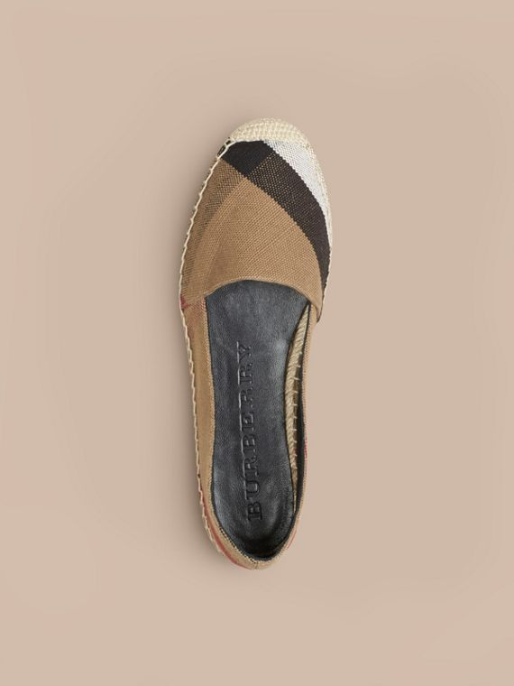 Check Jute Cotton Espadrilles - cell image 2