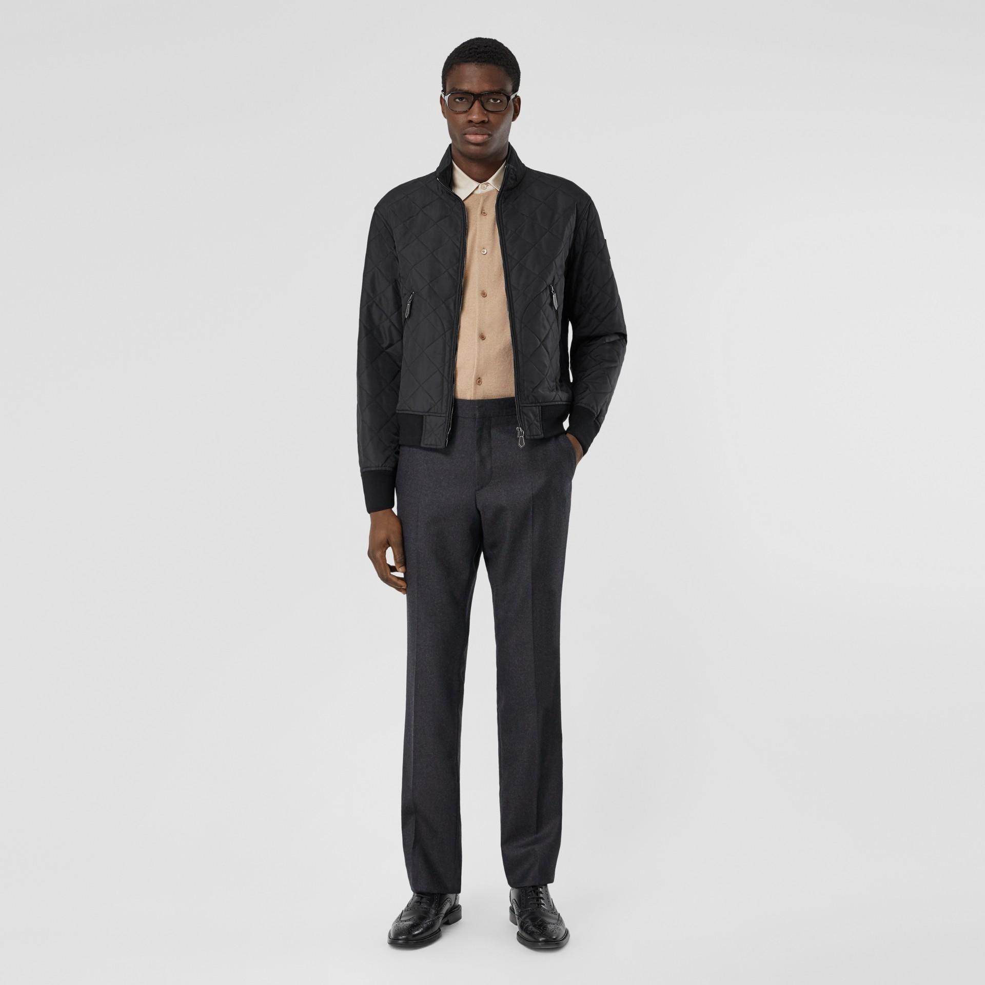 Veste thermorégulée matelassée (Noir) - Homme | Burberry Canada - photo de la galerie 0