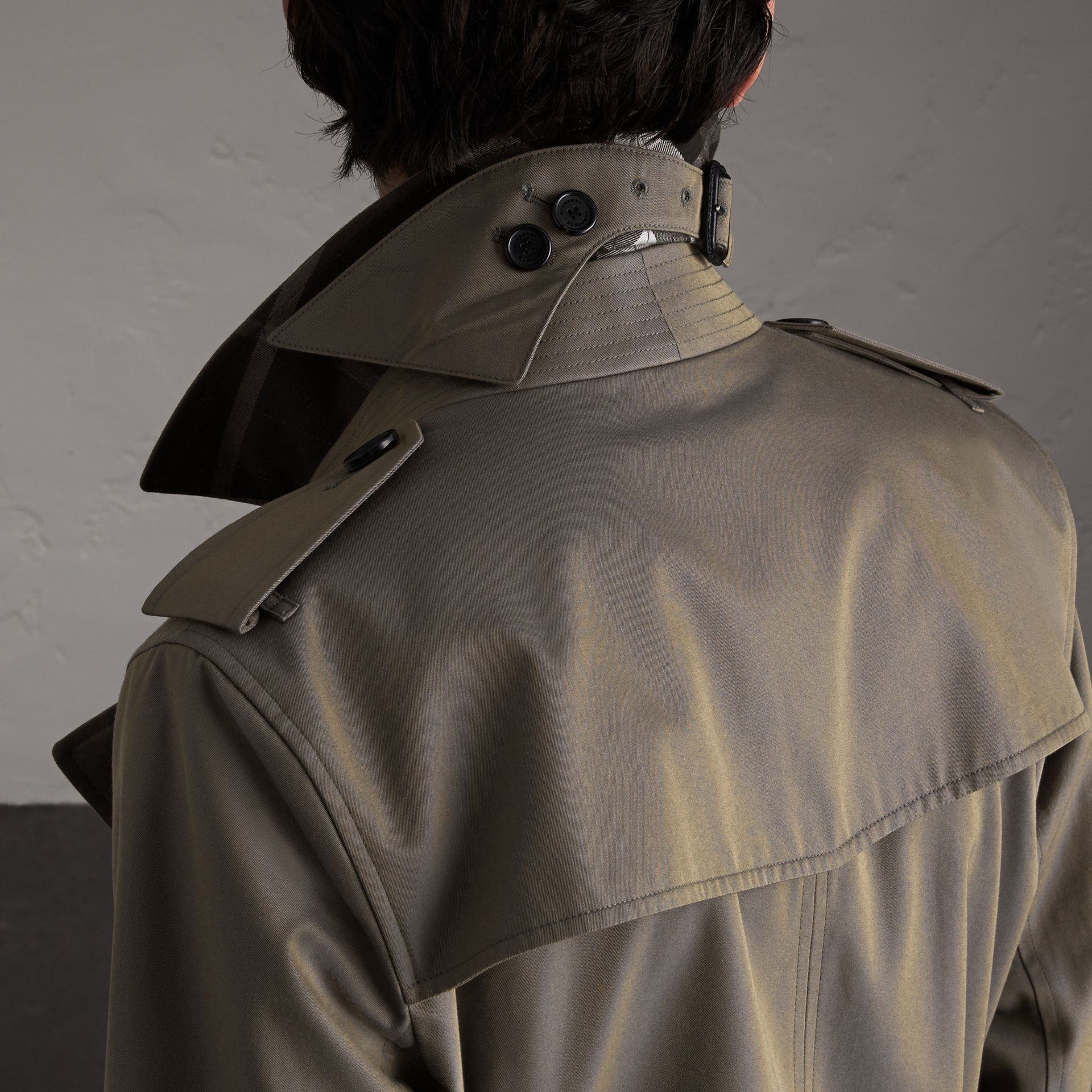 Cotton Gabardine Trench Coat - Men | Burberry Canada - gallery image 5
