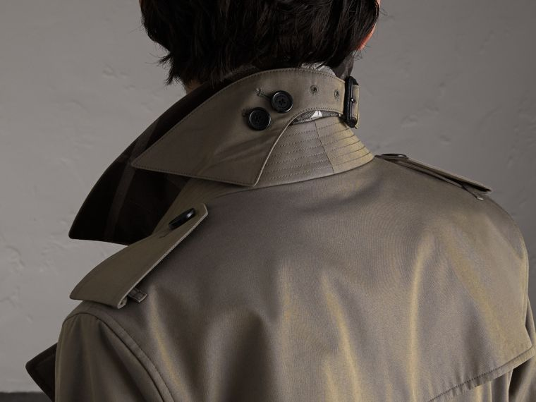 Cotton Gabardine Trench Coat - Men | Burberry Canada - cell image 4