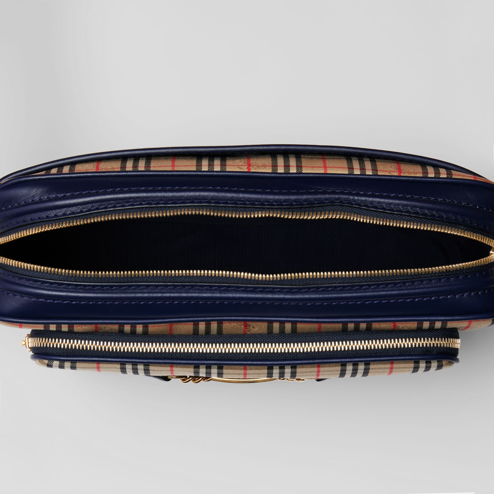 The Large Link Camera Bag im Karodesign (Tintenblau) - Herren | Burberry - Galerie-Bild 4