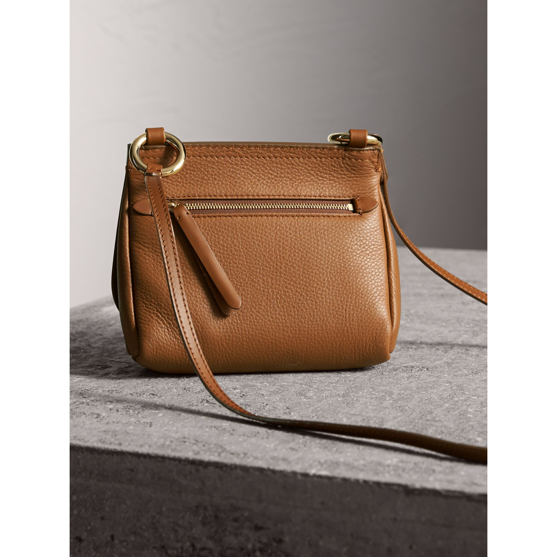 The Baby Bridle Bag in Leather in Tan - gallery image 4