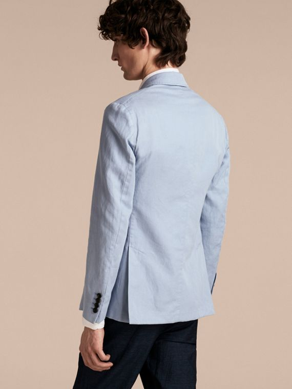 Slim Fit Cotton Linen Jacket - cell image 2