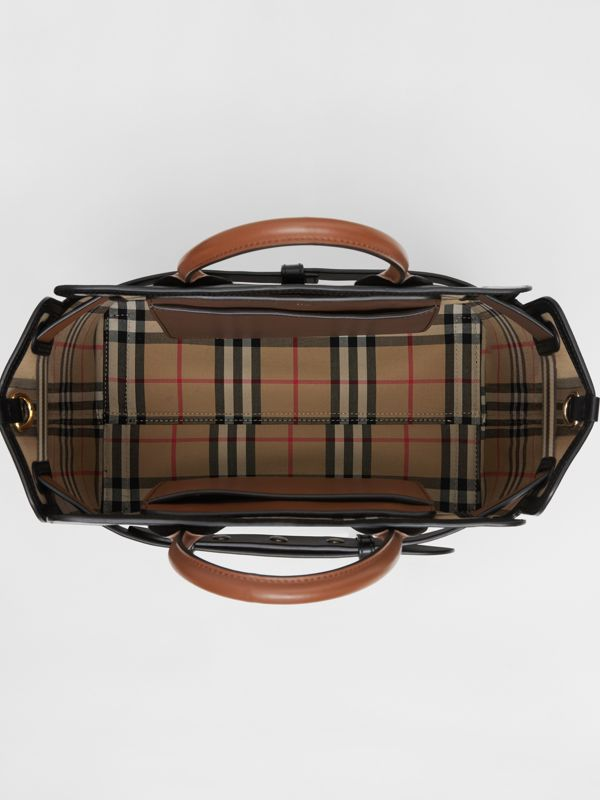 Borsa The Belt piccola in pelle con tre borchie (Nero) - Donna | Burberry - cell image 3