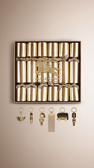 Set of Six Crackers with Charms