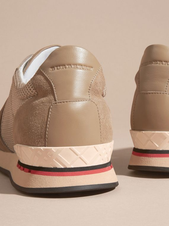 Camel The Field Sneaker in Suede and Mesh Camel - cell image 3
