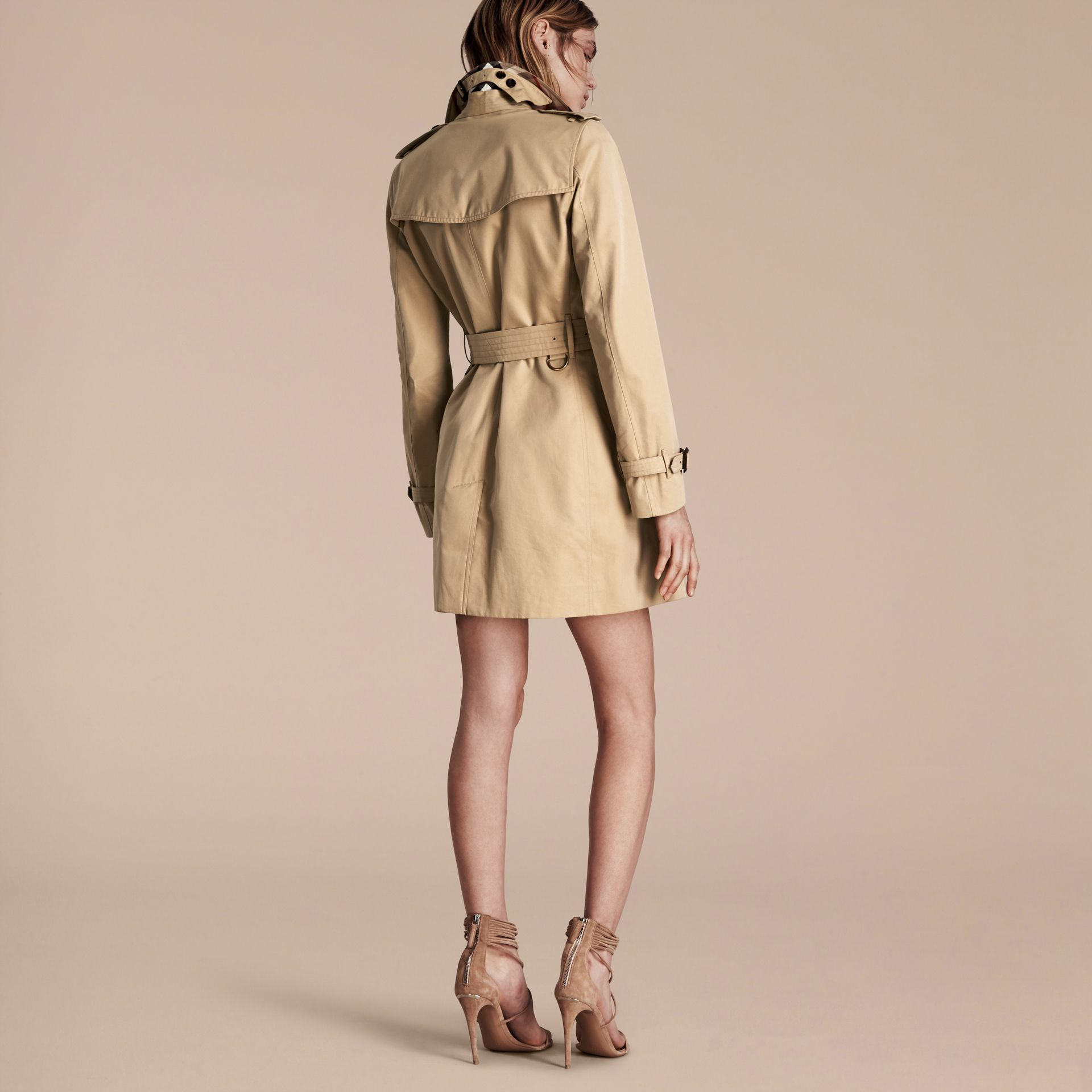 Honey The Kensington – Mid-Length Heritage Trench Coat Honey - gallery image 3