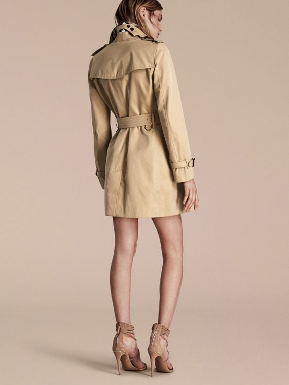 Honey The Kensington – Mid-Length Heritage Trench Coat Honey - cell image 2