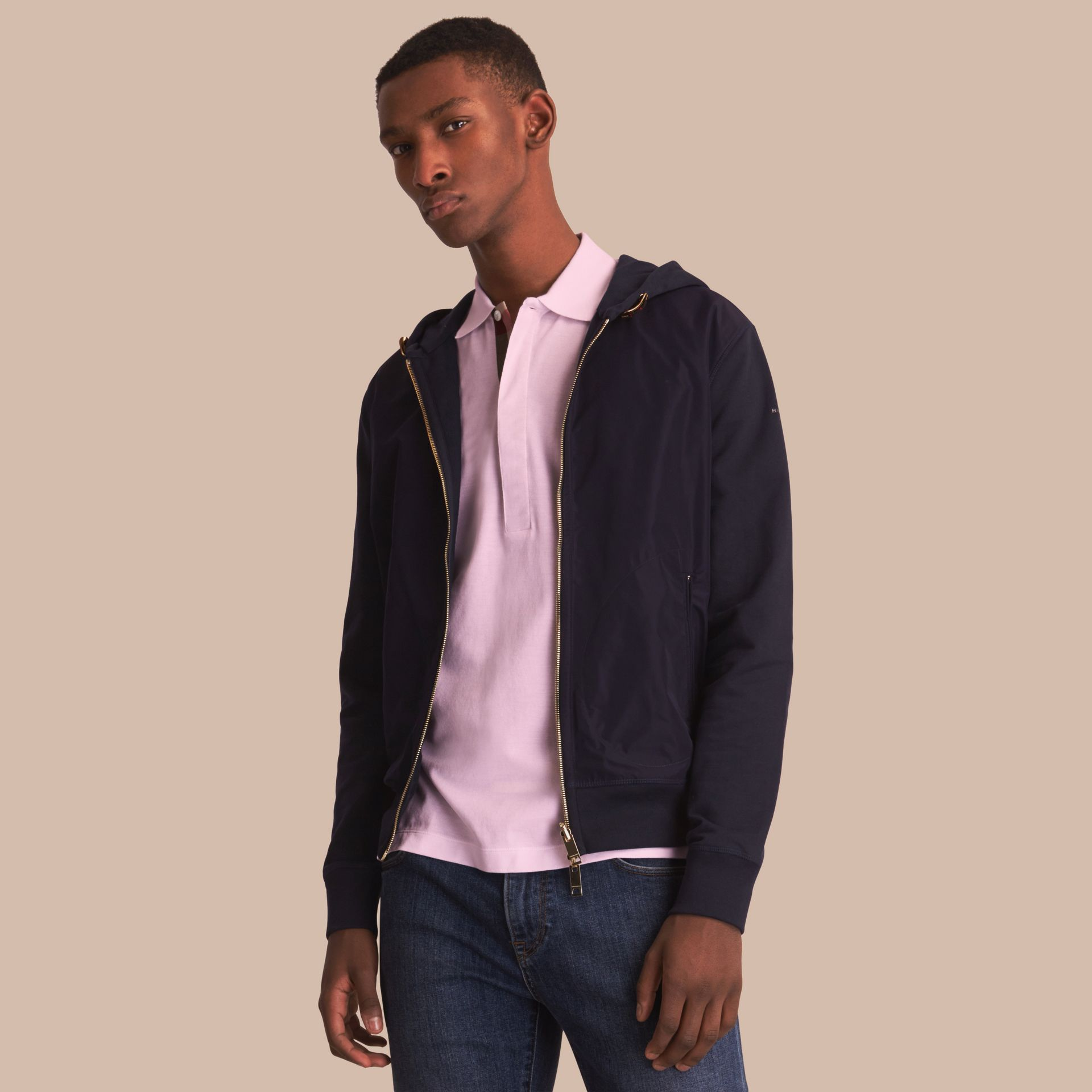 Lightweight Cotton Hooded Top - gallery image 1