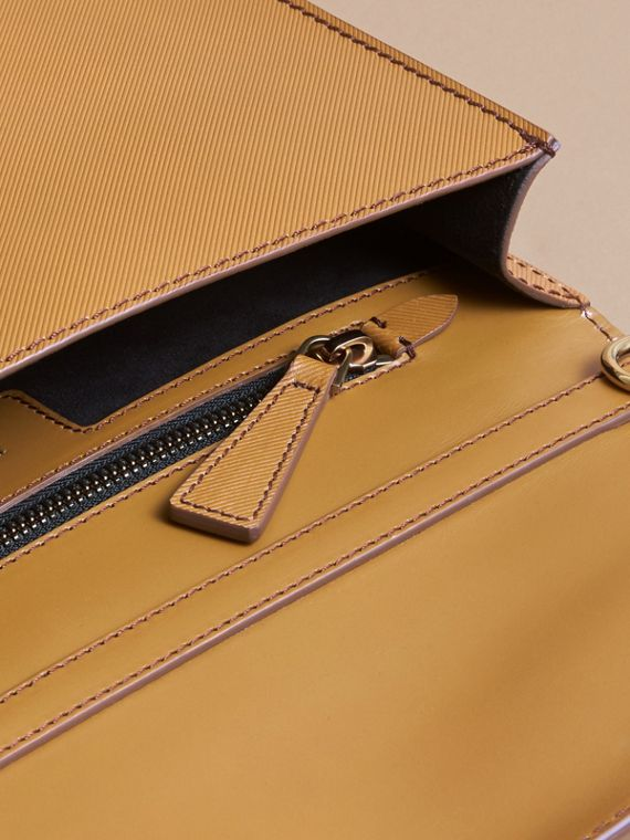 The DK88 Document Case in Ochre Yellow - Men | Burberry Australia - cell image 3
