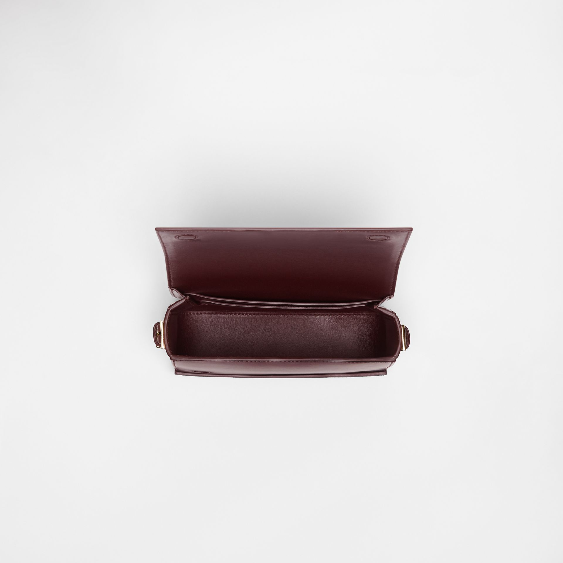 Small Leather Grace Bag in Oxblood - Women | Burberry - gallery image 4