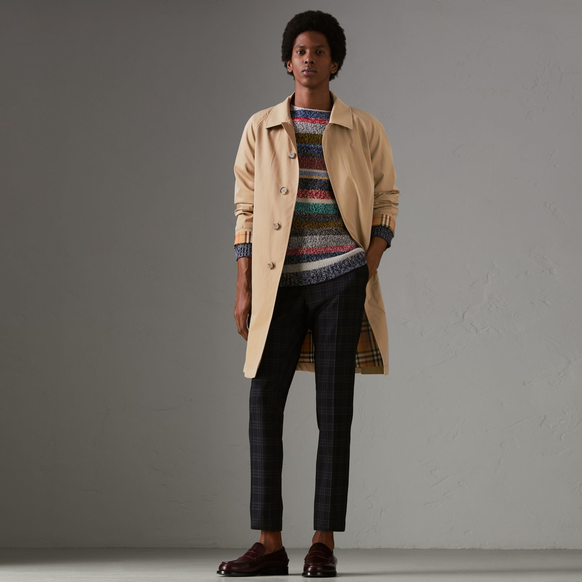 The Camden Car Coat in Honey - Men | Burberry United States - gallery image 0