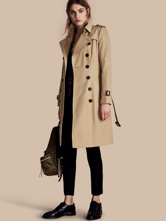 The Chelsea - Trench coat Heritage lungo Miele