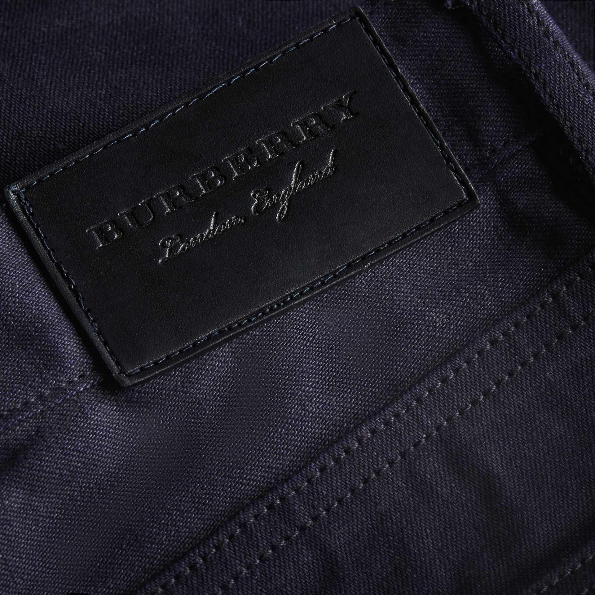 Slim Fit Saturated Selvedge Jeans - Men | Burberry - gallery image 2