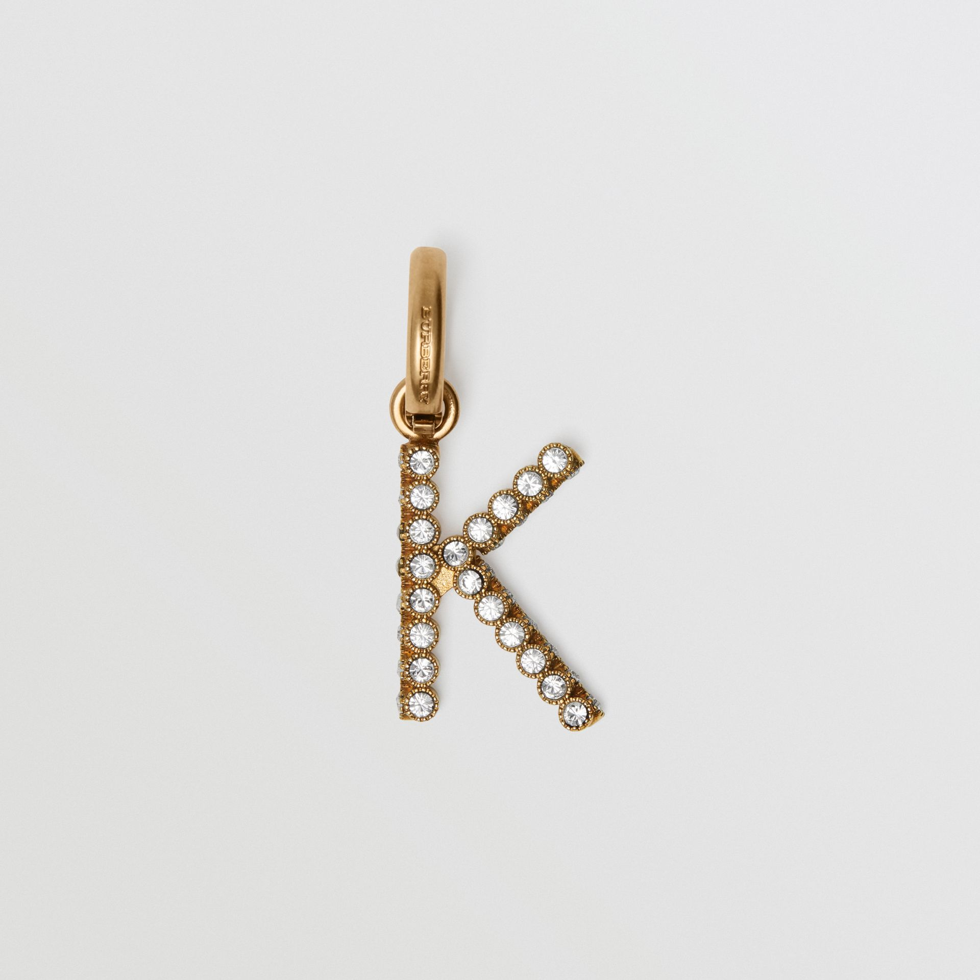 Crystal 'K' Alphabet Charm - Women | Burberry - gallery image 0