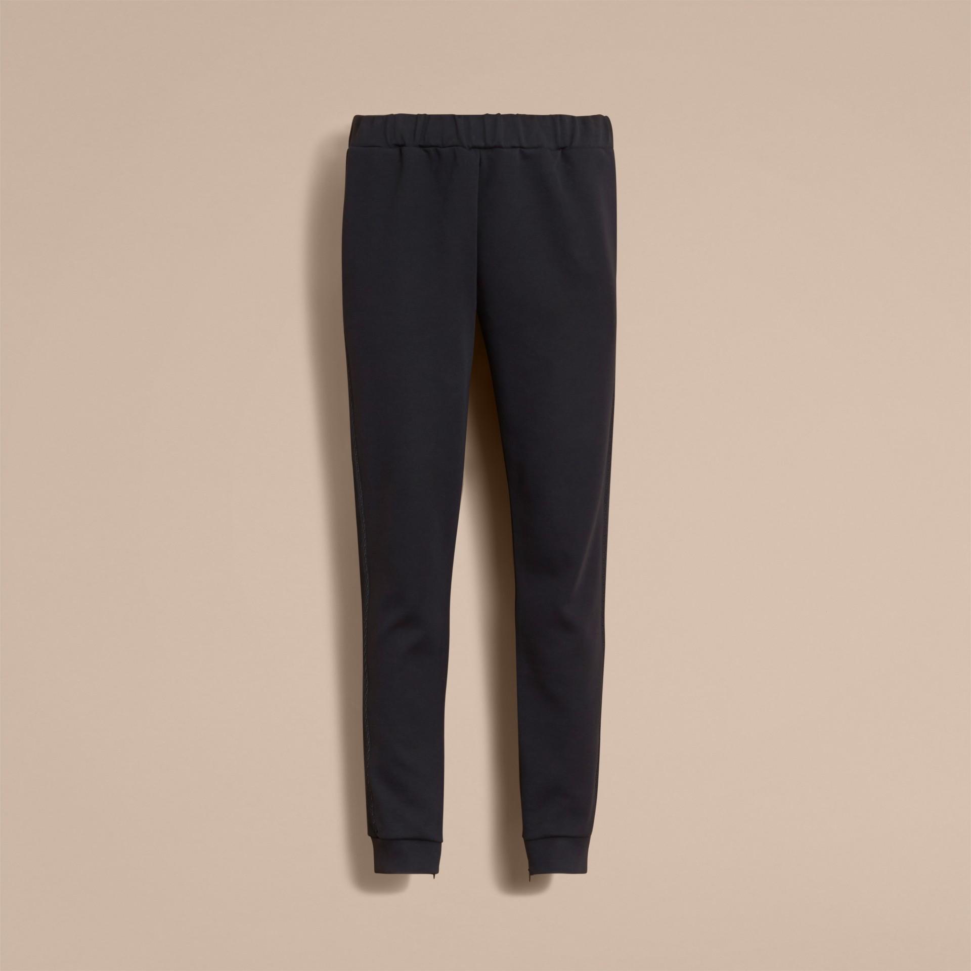 Cotton Blend Knit Sweat Pants - gallery image 4
