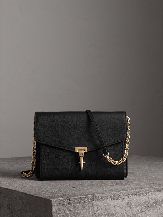 Small Leather Crossbody Bag in Black - Women | Burberry Australia